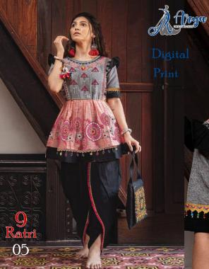 black grey kediya -poli rayon length 30 |dhoti -heavy crepe length 40 fabric digital print work wedding
