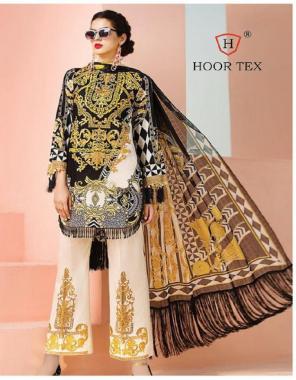 black white top -heavy lawn cotton  bottom -semi lawn  dupatta -tabby silk fabric embroidery digital print work wedding