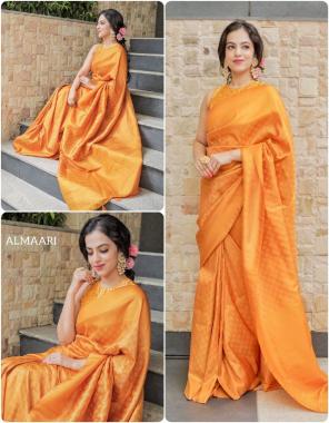 yellow soft banarasi silk  fabric weaving jacqaurd  work wedding