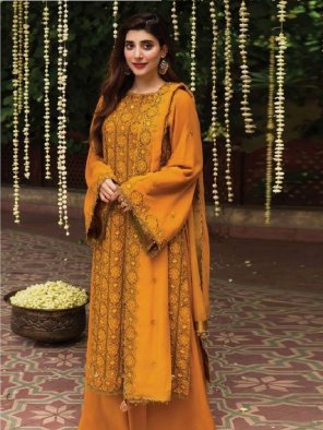 musterd jam silk cotton fabric embroidery work wedding