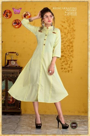 lime cotton satin fabric printed work casual