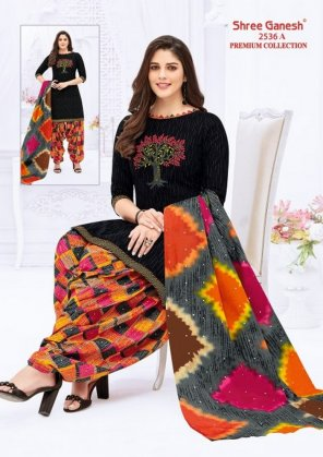 black cotton fabric printed work casual