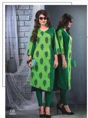 green south cotton fabric printed work casual