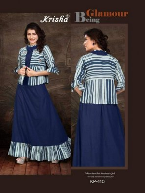 blue handloom cotton fabric printed work party