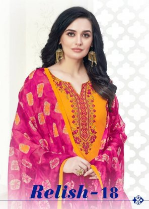 yellow cotton fabric printed work occasionaly