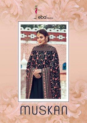 black pure vicsoc fabric embroidery work wedding