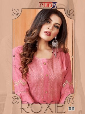 pink rayon fabric embroidery work feastval
