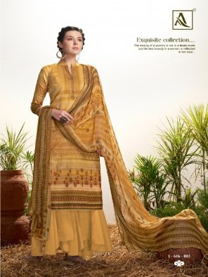 ocor yellow pure jam fabric printed work ethnic