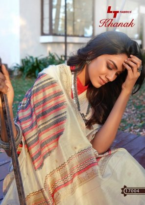 off white cotton  fabric weaving work casual