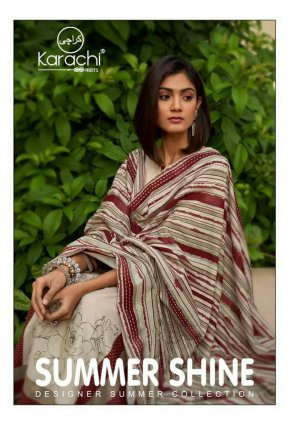 off white lawn cotton fabric printed work wedding