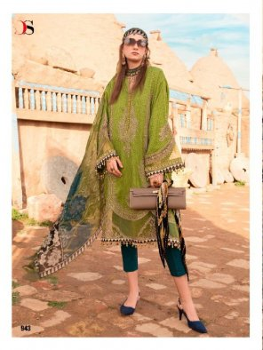 mhendi green pure cotton fabric printed work casual