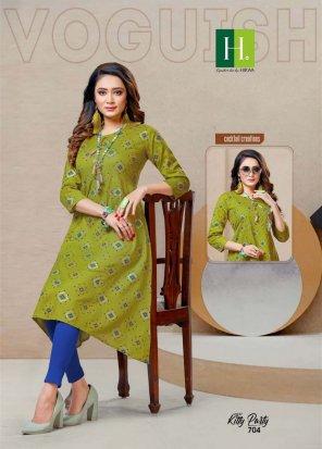 mhendi green cotton fabric printed work ethnic