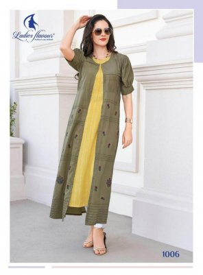 yellow with oat cotton rayon fabric embroidery work feastval
