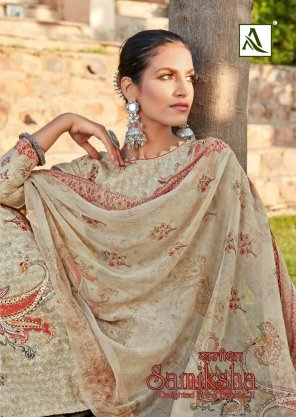 off white pure cotton fabric printed work occasionaly