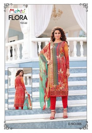blood red cotton fabric printed work ethnic