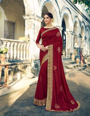 mauron silk fabric banarsi work ethic