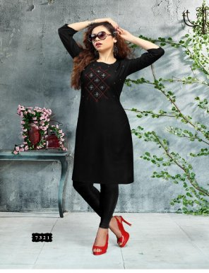 black rayon fabric embroidery work ethic