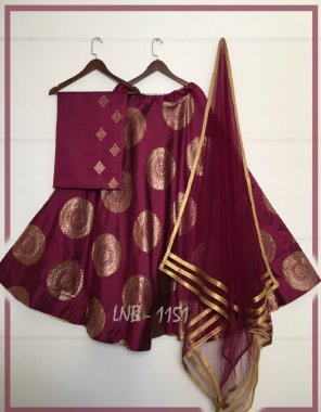 mauron jacquard banarasi silk fabric printed work wedding