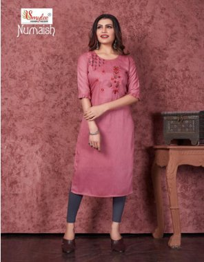 pink heavy silky wiving lining  fabric manual embroidery work work casual