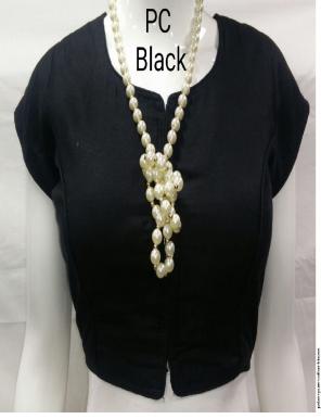 black pure cotton fabric plain work casual