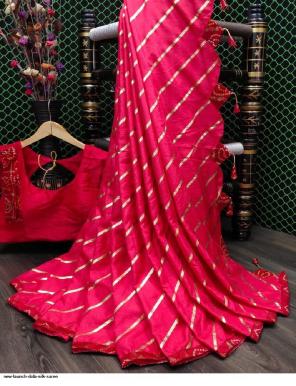 dark silk silk ( stiched blouse 38+ margin ) fabric bandhani work work ethic