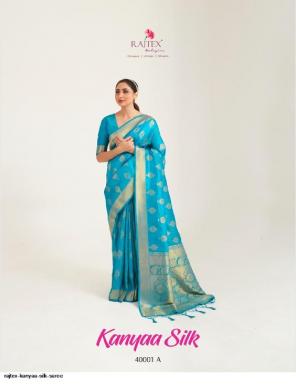 sky blue silk fabric handloom weaving work ethic