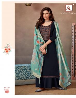 black top - pure jam cotton | bottom - pure cotton | dupatta - pure banarasi fabric fancy embroidery & swarovski diamond  work ethic