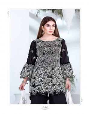 black top - pure cotton | bottom - cotton | dupatta - nazmin fabric handwork + embroidery work casual