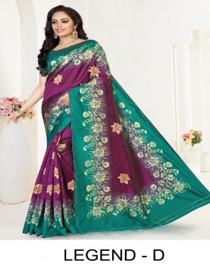 wine premium silk fabric weaving work festive