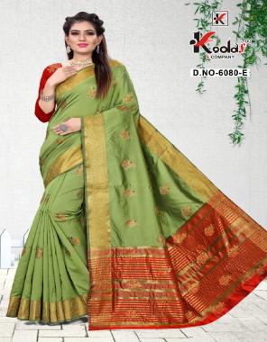 mahendi silk fabric jacquard work casual