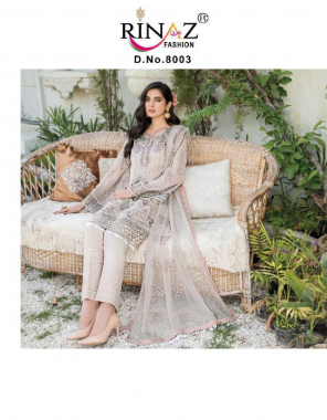 white top : fox georgette with heavy embroidery & diamond work   bottom + inner - heavy santoon with embroidery   dupatta - naznin with heavy embroidery fabric diamond work + embroidery work casual