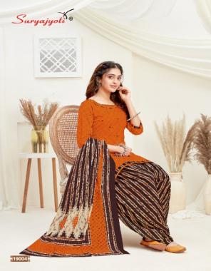 orange top - pure cotton print 2.50m | bottom - pure cotton print 2.50m | dupatta - pure cotton print 2.25m fabric printed work casual