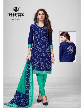 navy blue top - cotton   bottom - cotton   dupatta - cotton  fabric printed work casual