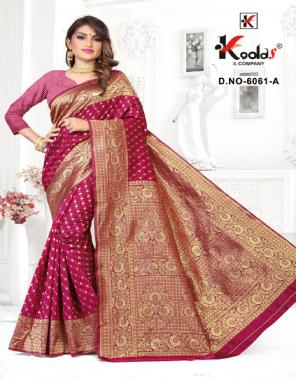 rani silk  fabric jacquard work ethnic