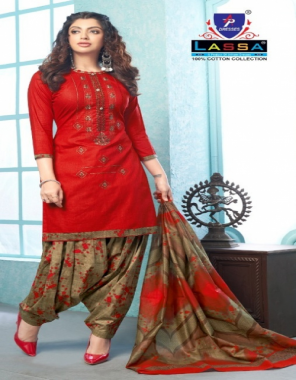 red top - cotton 2 m   bottom - cotton 2 m   dupatta - cotton 2 m fabric printed work casual