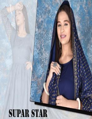 navy blue rayon fabric weaving work ethnic