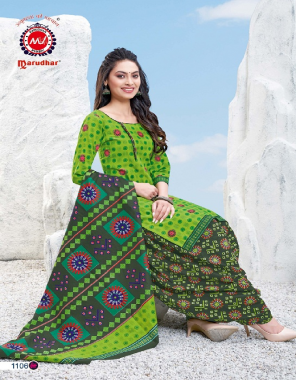 parrot green pure cotton fabric printed work casual