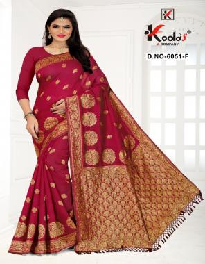 dark pink cotton silk fabric jacquard + weaving  work casual