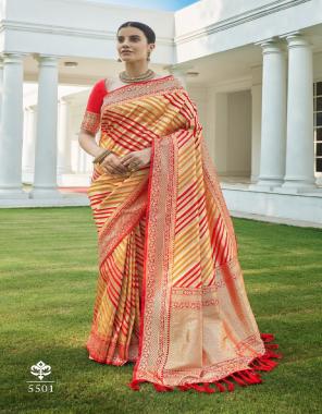cream silk fabric jacquard + weaving work casual
