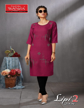 wine rayon fabric embroidery work casual