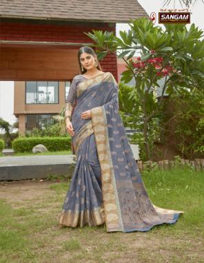 sky blue cotton fabric weaving work casual