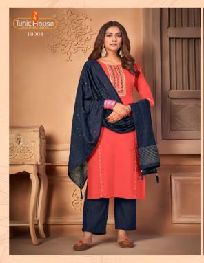 pink top - premium fancy silk   inner - pure cotton   bottom - soft silk with pattern   dupatta - fancy weaving fabric jarodosi + khatali work festive