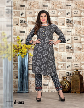 black top - rayon 17kg heavy bombay print | pant - rayon 17kg heavy bombay print | length - top - 42  inch | bottom - 42 inch fabric printed work casual