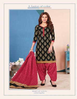 black top / bottom - cotton cambric | dupatta - mul mul cotton fabric printed work party wear