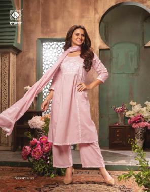 pink jequard fabric weaving work wedding