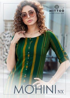 green rayon fabric printed work casual