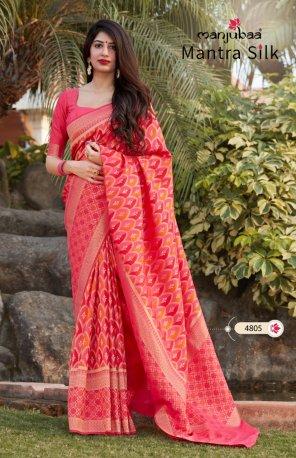maroon silk fabric printed work festive