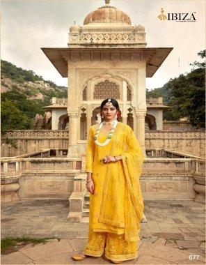 yellow slik fabric embroidery work wedding