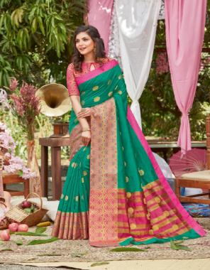 rama crystal silk fabric jacquard work festive