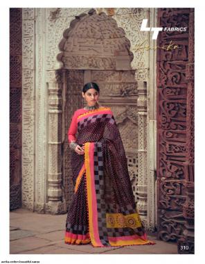burgandi cotton fabric printed work festive
